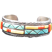 Navajo Cuff Bracelet Victor Moses Begay