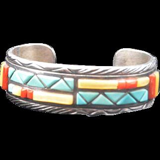 Navajo Cuff Bracelet Victor Moses Begay