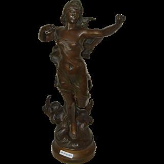 Hippolyte Moreau Bronze Sculpture