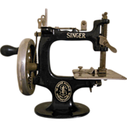 Antique Singer Model 20 Toy Sewing Machine