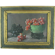 Vintage Priscilla Warren Roberts Still Life Oil Painting American Artist