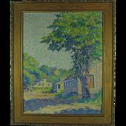 Margaret R Schauffler Oil Painting Landscape  American
