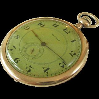 Antique Waltham Opera Thin Pocket Watch