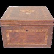 Tunbridge Ware Playing Cards Box
