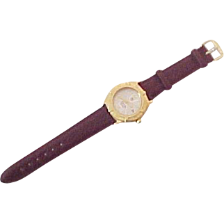 Vintage Tag Heuer 18k Gold Mens Wristwatch Chronometer 200 meters Diver's Watch