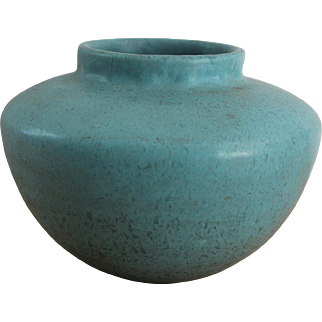 Vintage Roseville Tourmaline Vase/Marked A-200/Excellent Condition
