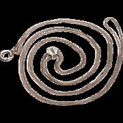 Vintage Silver Lorgnette, Watch Chain