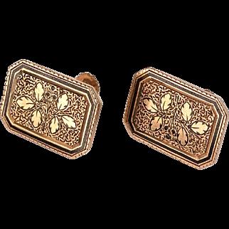 Repurposed Victorian Cuff Buttons
