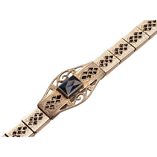 1930's Replacement Filigree Watchband