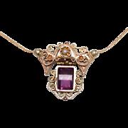 Victorian Pendant, Brooch, Necklace
