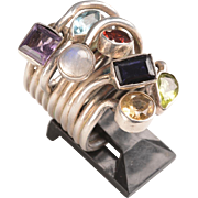 Mid Century Avant Garde Unisex Ring