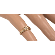 14kt Gold Baby Ring