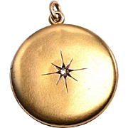 12kt Gold Photo Locket c.1915