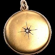 12kt Gold Photo Locket c.1915