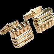 Luxury Retro 14kt Cufflinks