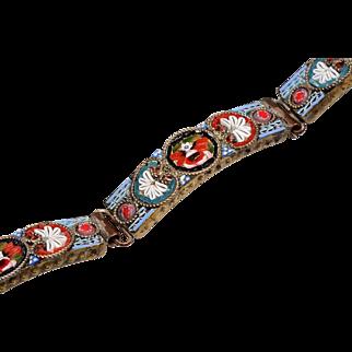 Edwardian Micro Mosaic Bracelet