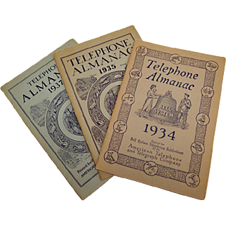 A Look Back 80 Years Through Bell System Telephone Almanacs