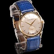 1950's 14kt Mathey Tissot Wristwatch TV Memorabilia