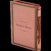 Original Book of Shaker Music Vol.2 1848