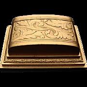 Fancy 1940's Ring Display Box