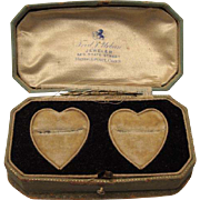 1920's Wedding Ring(s) Presentation Jewelry Box