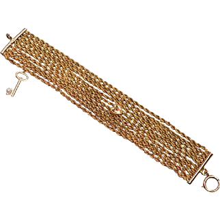 Redesigned Lorgnette Chain as a Bracelet