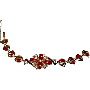 1940's Fancy Cocktail Style Costume Bracelet