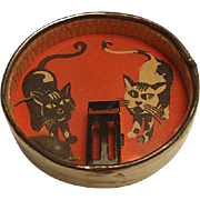1940's Dexterity Puzzle: Cat and Mouse