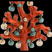 Most Unusual Christmas Tree Brooch