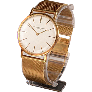 Early 1960's Vacheron Constantine 14kt Gold Wristwatch