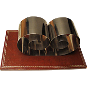 Retro Book Holder:  Chromed Spring Steel