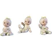 UOGC Baby of the Month Bisque Corn Pajama Girl Japan Figurines