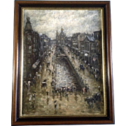 Vagin, St. Petersburg, Russia, Church of the Savior on Spilled Blood, Oil Painting on Canvas Signed by Artist