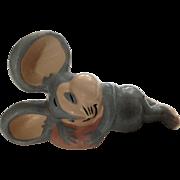 Evan K Shaw Mouse 1940's Rosebud The Mouse Warner Bro. Ceramic American Pottery Figurine