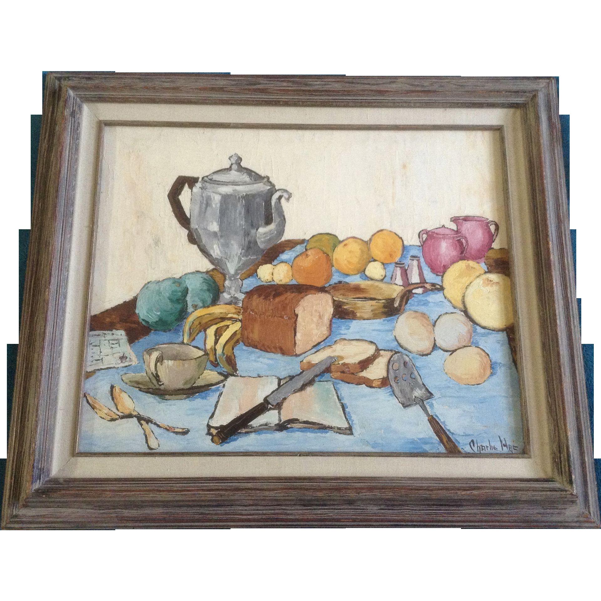 Charlie Mac Maceachern Impression Oil Painting Still