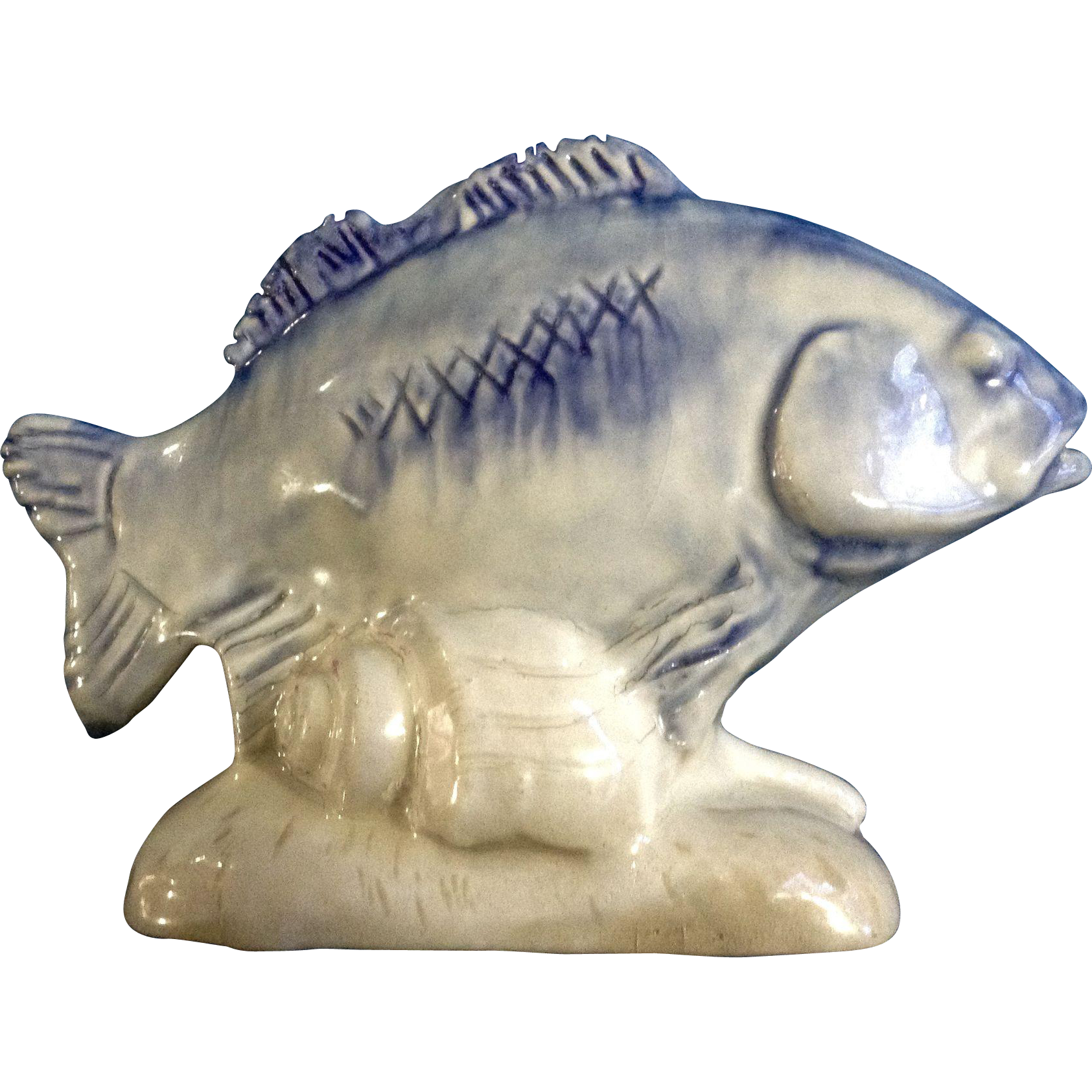 stonelain pottery fish vintage 1930 u2019s