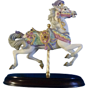 Lenox 1990 Carousel Charger Horse Animal Collection Circus Retired Figurine