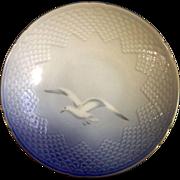 B & G Bing & Grondahl Royal Copenhagen - Seagull  Footed Cake Plate # 428 1895 - 1997
