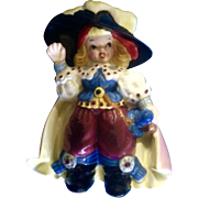 Bobby Shaftoe Nursery Rhyme K2558 Planter Pirate Figurine Mid-Century Japan