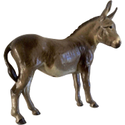 "Hagen Renaker Maureen Love Designer Adelaide Donkey RARE Hard To Find Figurine 5-1/4 "" Tall"