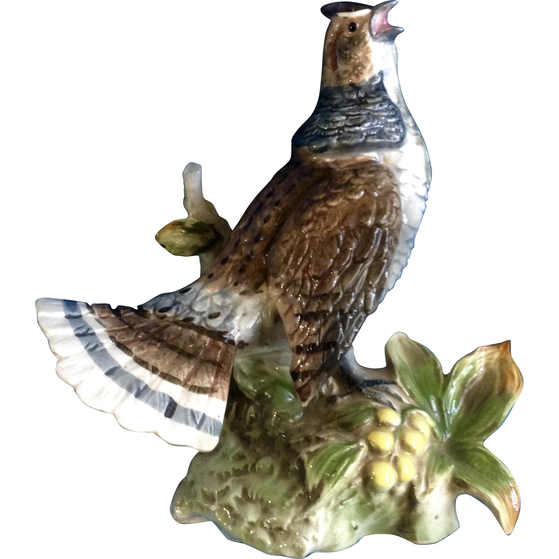 Vintage Norleans Japan Bird Ceramic Figurine Animal Mid