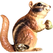 Josef Originals Chipmunk Squirrel Animal Figurine Vintage