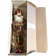 Retired Mark Roberts Pomegranate Fairy, Med 51-82458 Limited Edition 712/1500 Christmas Doll 19""