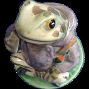 Beatrix Potter Mr. Jeremy Fisher Fredrick Warne & Co. 1950 Beswick England Frog Figurine BP-3b issued 1974-1985.