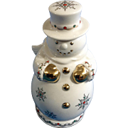 Discontinued Lenox China Jewels Collection Snowman Sku 6238190 Christmas Figurine