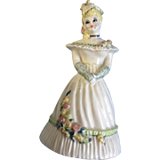 Ceramic Arts Studio Summer Belle Blonde 1950's Bell Ceramic California Pottery Figurines