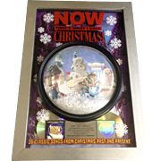 Now That's What I Call Christmas!, Promotional Award Commemorate 4000,000 Platinum Sales Picture with Plastic Snow Globe, Elves and Snowman