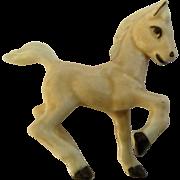 "Discontinued Hagen Renaker Early Frisky Foal, #147, 2"", Bay Horse 1951-1953 Figurine"