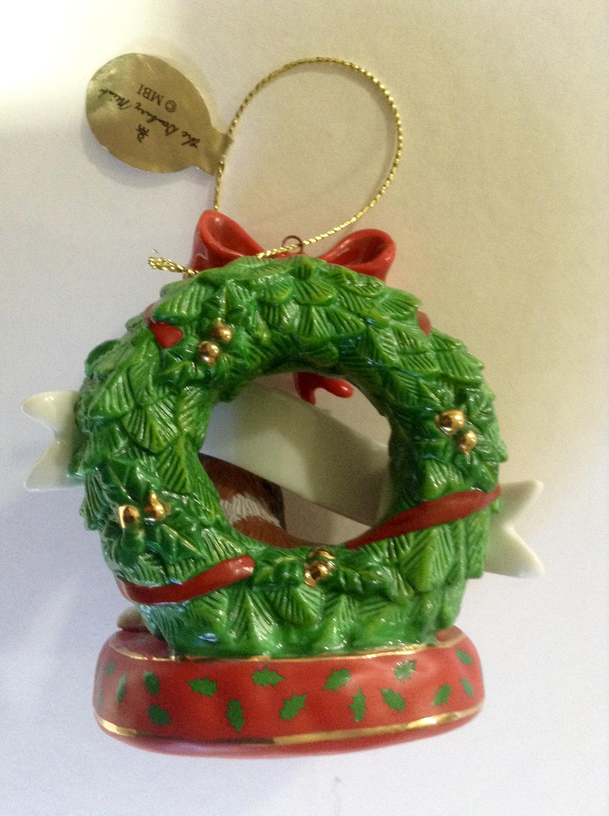 Retired Danbury Mint 2006 Sheltie Christmas Ornament ...