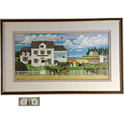 Charles Wysocki (1928-2002), Olde Spyce of Boston Signed and Numbered Limited Edition Number 994 of 1000 Print